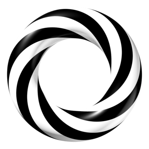 Striped Torus Ring